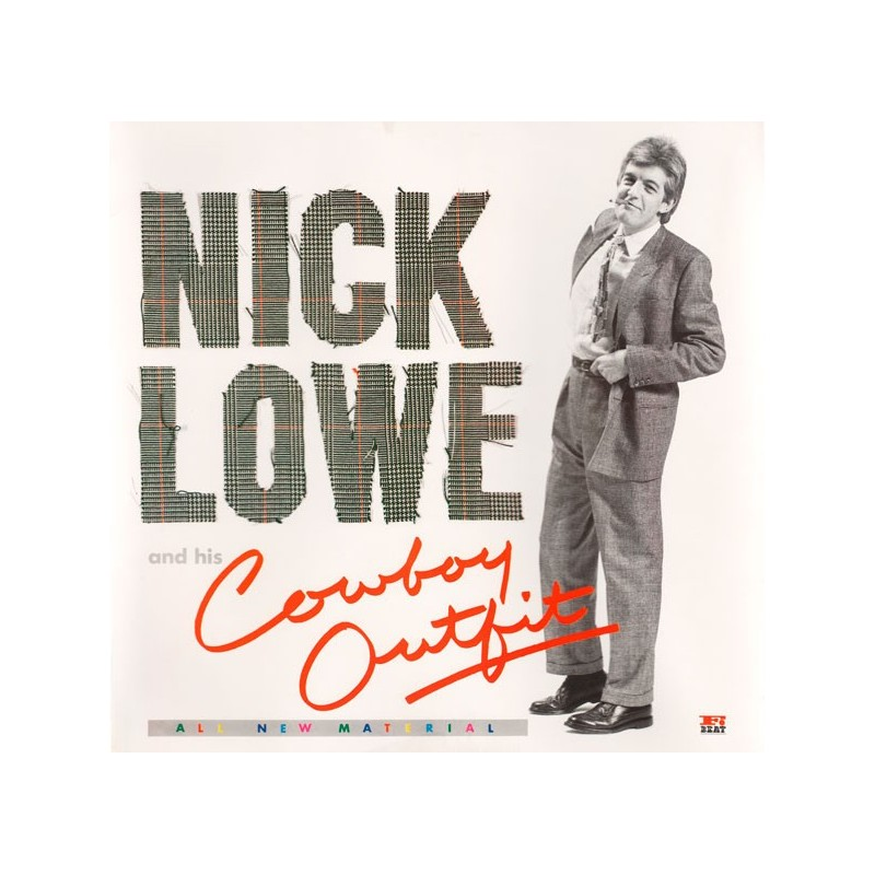 NICK LOWE - And His Cowboy Outfit LP