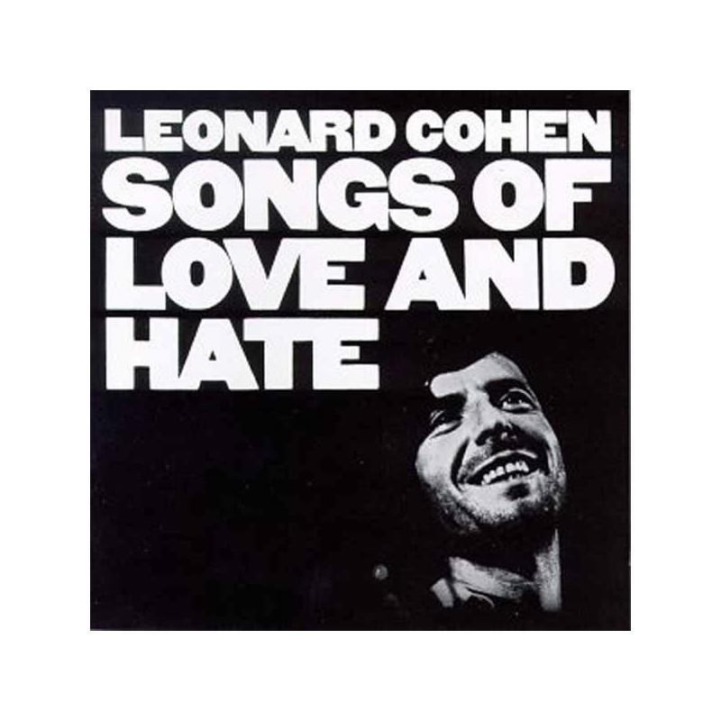 LEONARD COHEN - Songs Of Love And Hate LP