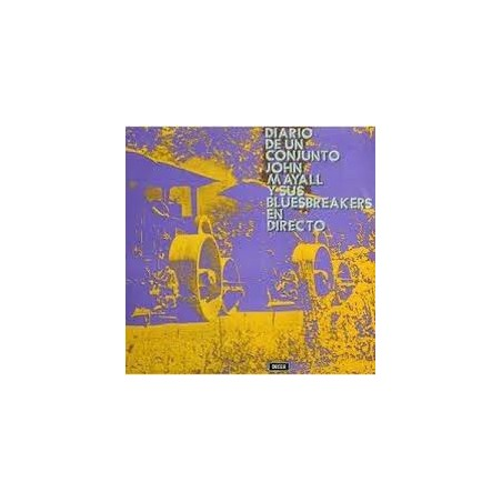 JOHN MAYALL & THE BLUESBREAKERS - Diario De Un Conjunto - En Directo LP (Original)