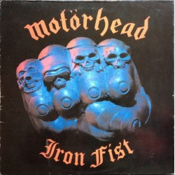 MOTORHEAD ‎– Iron Fist  LP (Original)