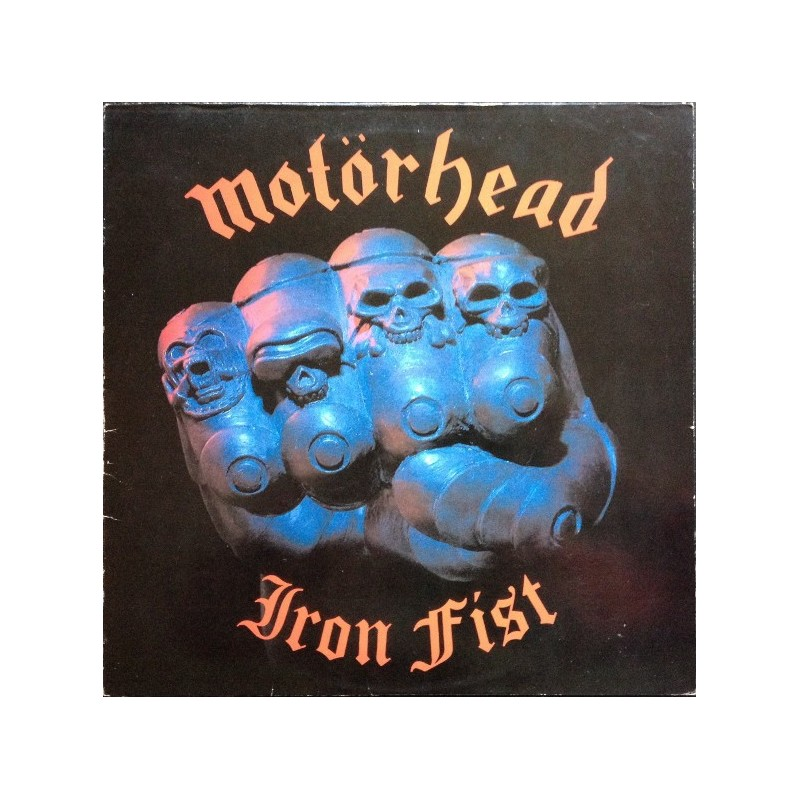 MOTORHEAD ‎– Iron Fist  LP