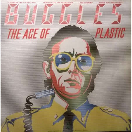 BUGGLES - Age Of Plastic  LP (Original)
