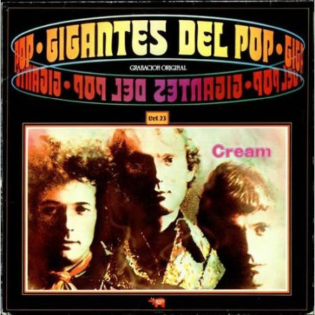 CREAM - Gigantes Del Pop Vol 23 LP