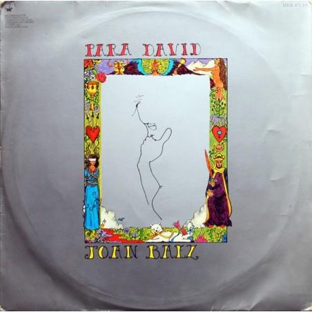 JOAN BAEZ - Para David LP (Original)