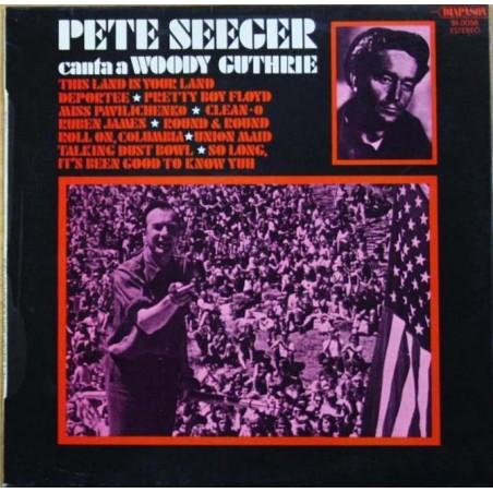 PETE SEEGER - Canta A Woody Guthrie LP (Original)