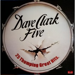 DAVE CLARK FIVE - 25 Thumping Great Hits LP (Original)