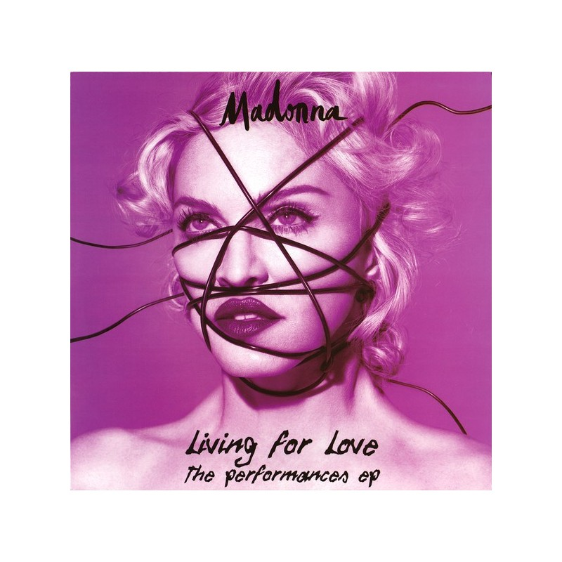 MADONNA - Living For Love – The Performances Ep LP