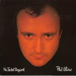 PHIL COLLINS - No Jacket Required LP (Original)