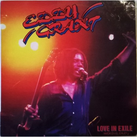 EDDY GRANT - Love In Exile LP (Original)