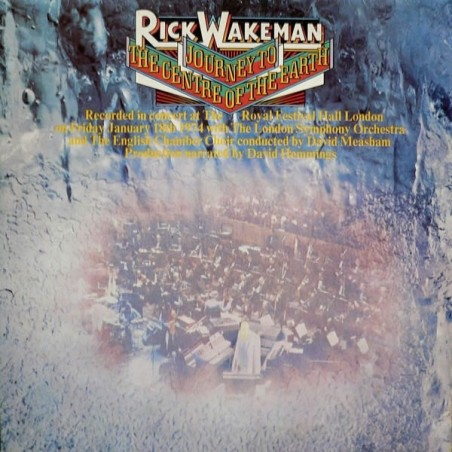 RICK WAKEMAN - Journey To The Centre Of The Earth  CD