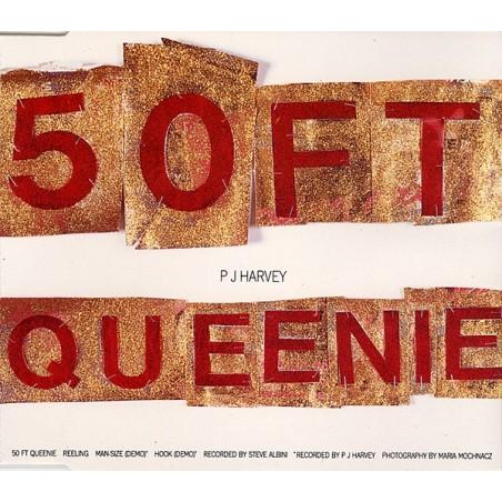 "P.J. HARVEY - 50 Ft Queenie 12"""
