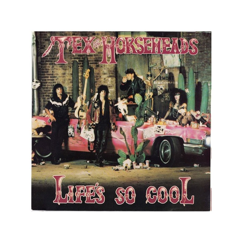 TEX & THE HORSEHEADS - Life's So Cool LP
