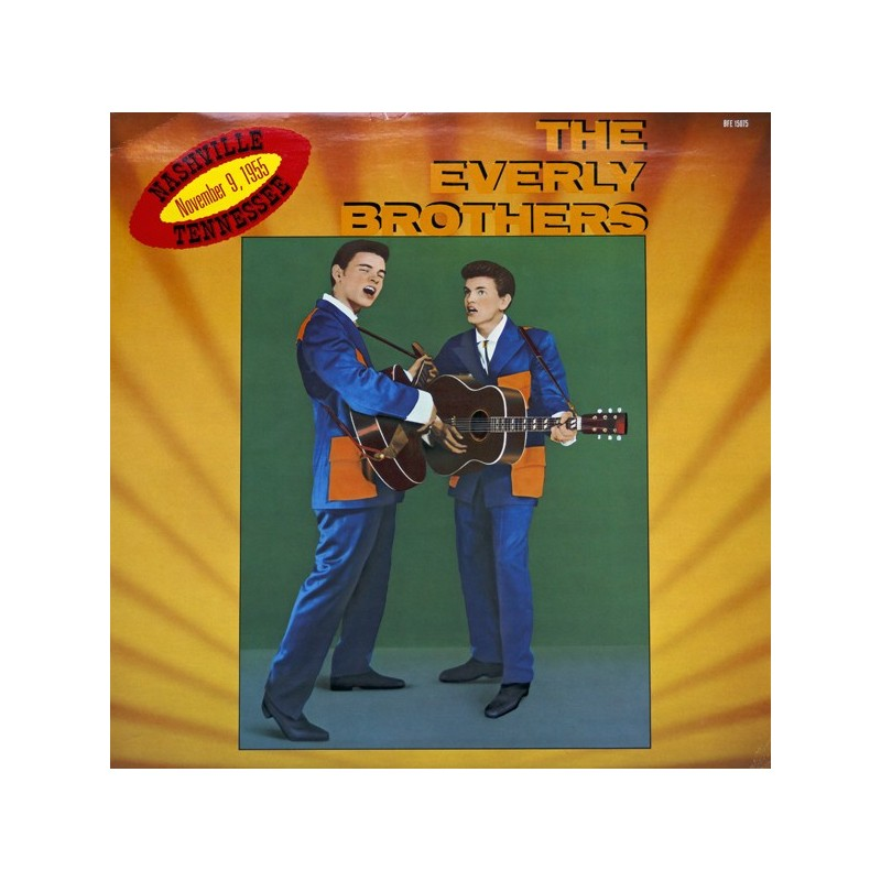 EVERLY BROTHERS - Nashville Tennessee, November 9, 1955 LP