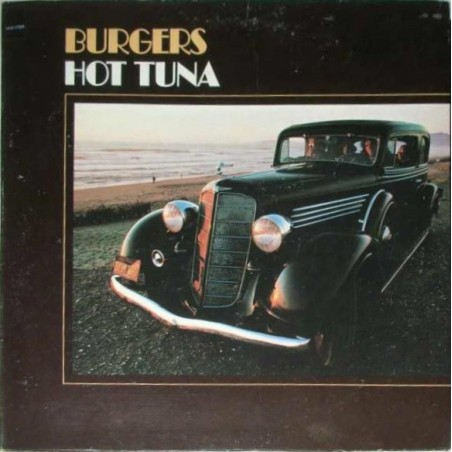 HOT TUNA - Burguers LP (Original)