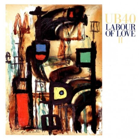UB40 - Labour Of Love II LP (Original)