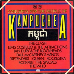 VARIOS - Concerts For The People Of Kampuchea LP (Original)