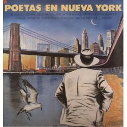 VARIOS - Poetas En Nueva York LP (Original)