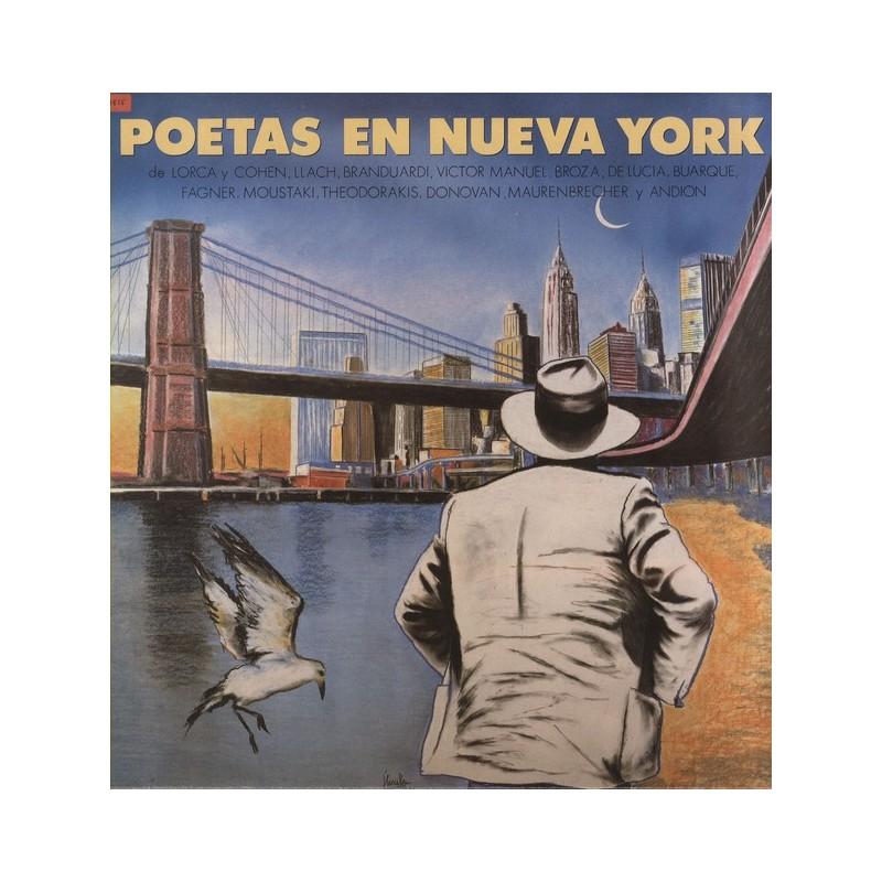 VARIOS - Poetas En Nueva York LP