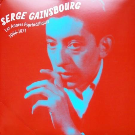 SERGE GAINSBOURG - Les Années Psychédéliques: 1966 - 1971 LP