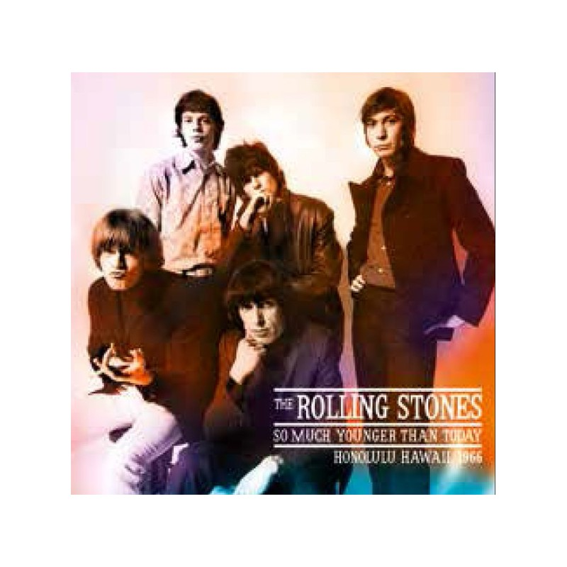 ROLLING STONES - So Much Younger Than Today, Hawaii 1966 LP