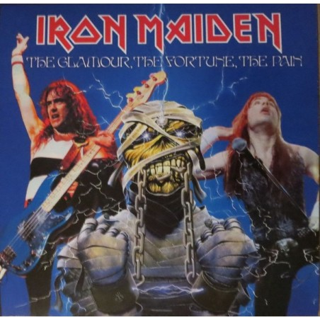 IRON MAIDEN - The Glamour, The Fortune, The Pain LP