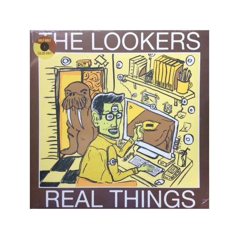 THE LOOKERS  Real Things LP