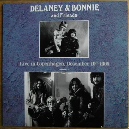DELANEY & BONNIE & FRIENDS - Live In Copenhagen 1969 LP