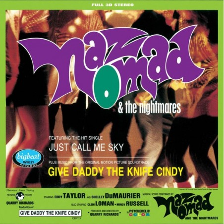 NAZ NOMAD & THE NIGHTMARES - Give Daddy The Knife Cindy LP