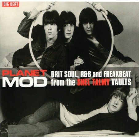 VARIOS - Planet Mod - Brit Soul R&B And Freakbeat From The Shel Talmy Vaults LP