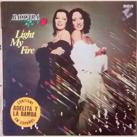 BACCARA - Light My Fire LP (Original)