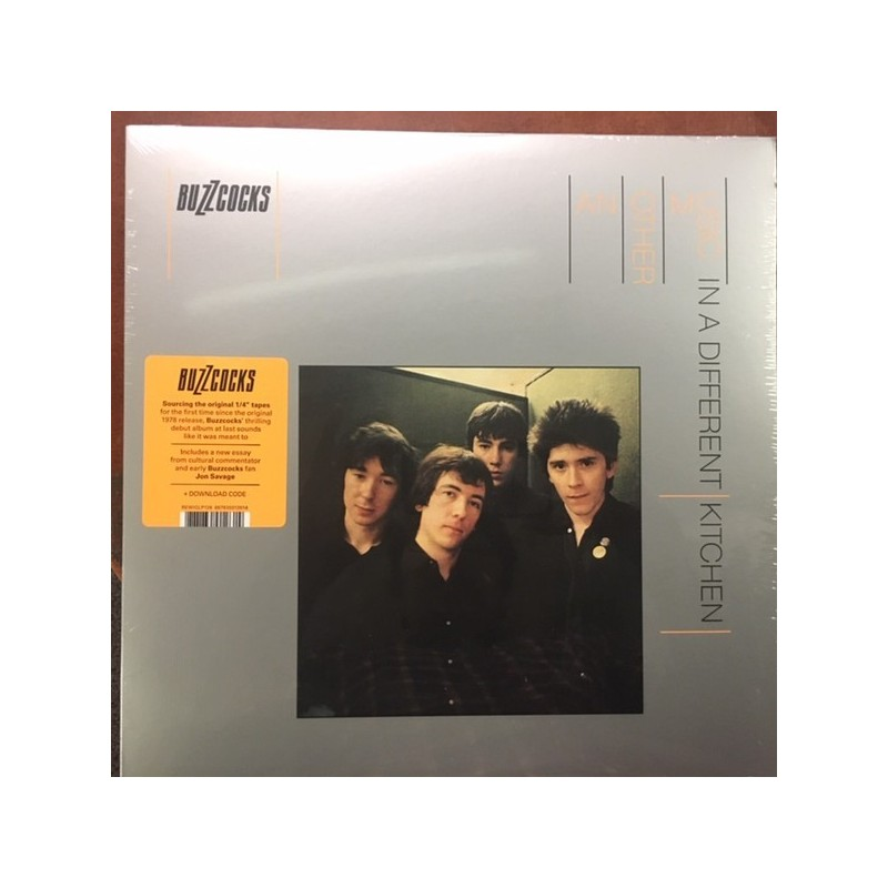 BUZZCOCKS - Another Music In A Different Kitchen LP
