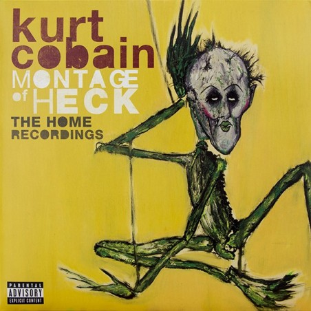 KURT COBAIN (NIRVANA) - Montage Of Heck: The Home Recordings LP