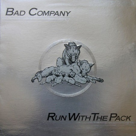 BAD COMPANY - Run With The Pack LP (Original)