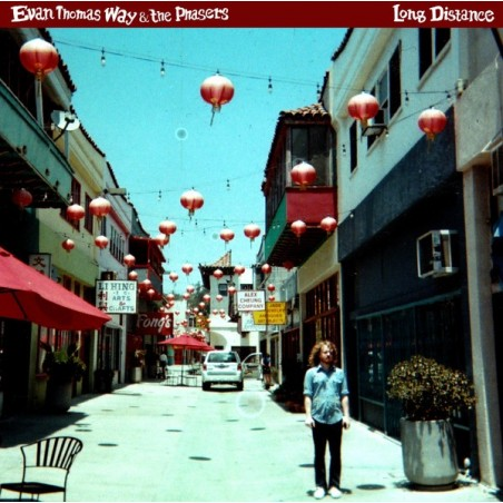 EVAN THOMAS WAY & THE PHASERS - Long Distance LP+CD