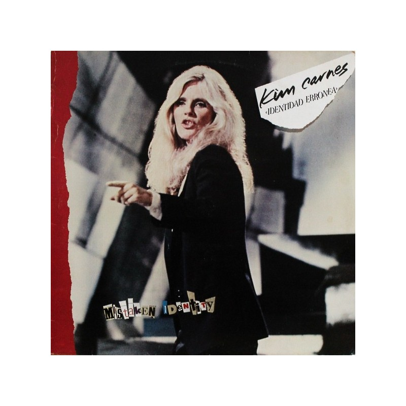 KIM CARNES - MIstaken Identity LP
