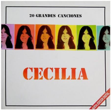 CECILIA - 20 Grandes Canciones LP (Original)