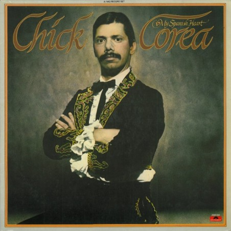 CHICK COREA - My Spanish Heart LP (Original)