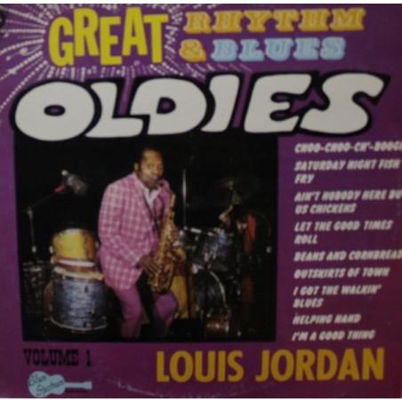 LOUIS JORDAN - Great Rhythm & Blues Oldies  LP (Original)