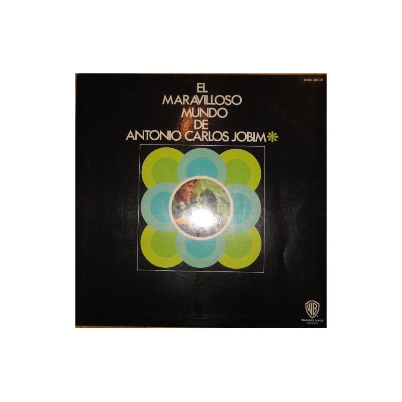 ANTONIO CARLOS JOBIM -El Maravilloso Mundo De Antonio Carlos Jobim  LP