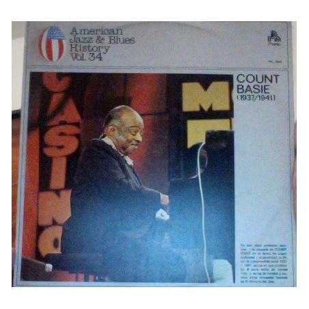 COUNT BASIE - American Jazz & Blues History Vol. 34 At Savoy Ballroom 1937-1944 LP (Original)