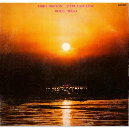 GARY BURTON & STEVE SWALLOW - Hotel Hello LP (Original)