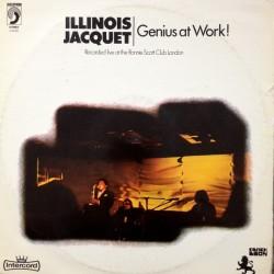 ILLINOIS JACQUET - Genius At Work LP (Original)