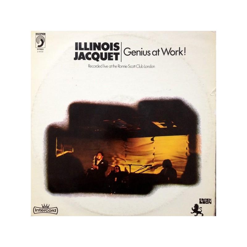 ILLINOIS JACQUET - Genius At Work LP