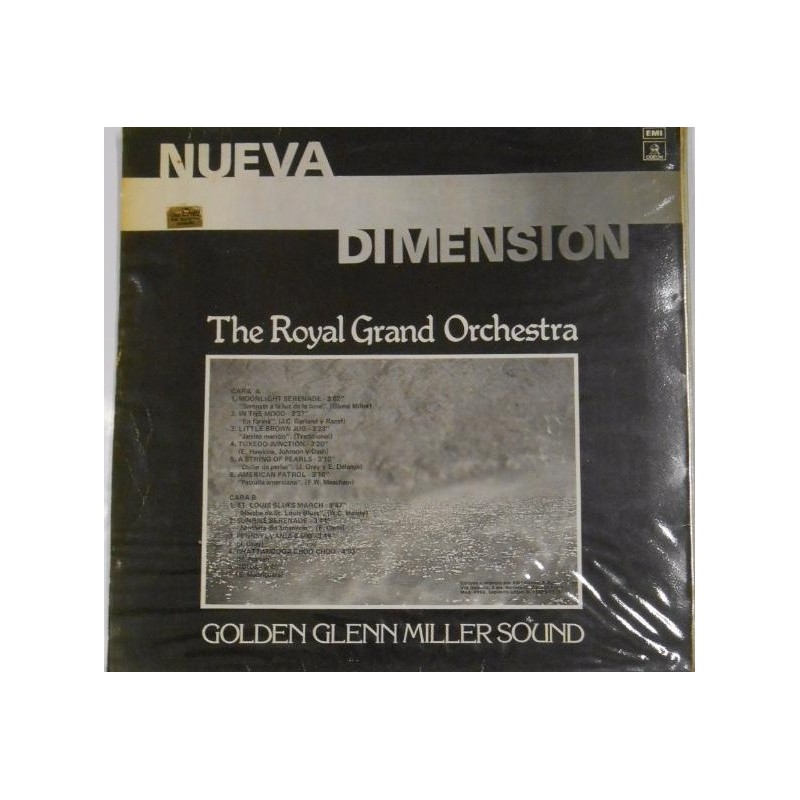 ROYAL GRAND ORCHESTRA - Golden Glenn Miller Sound LP