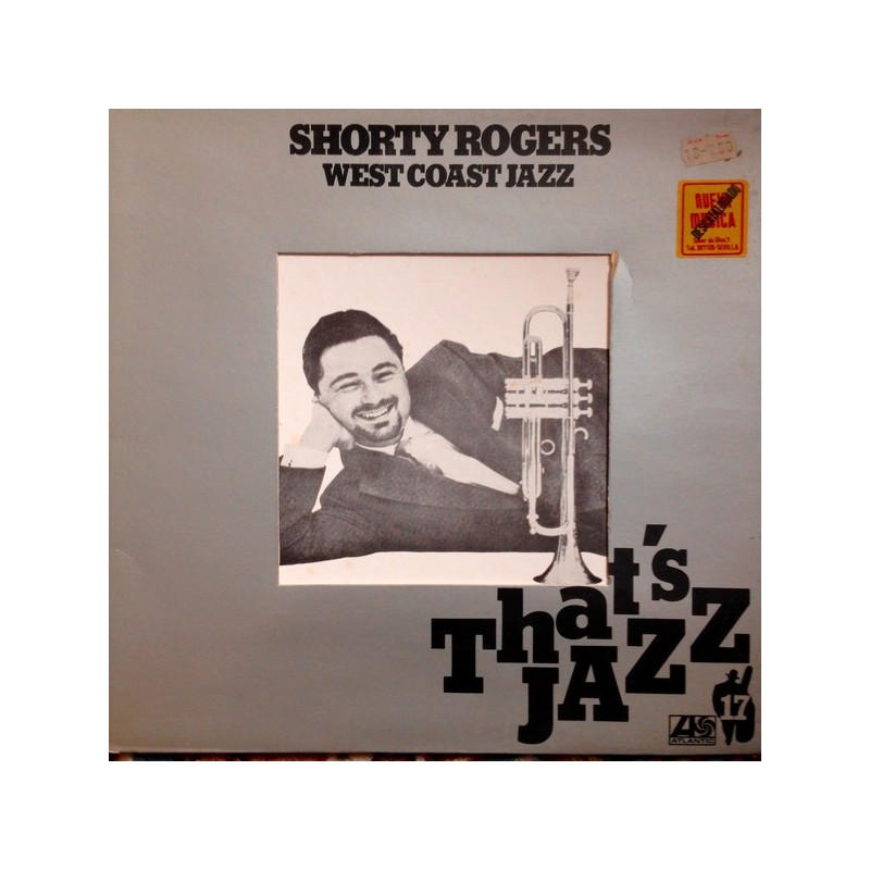SHORTY ROGERS - West Coast Jazz  LP