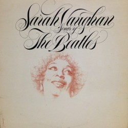 SARAH VAUGHAN - Songs Of The Beatles LP (Original)