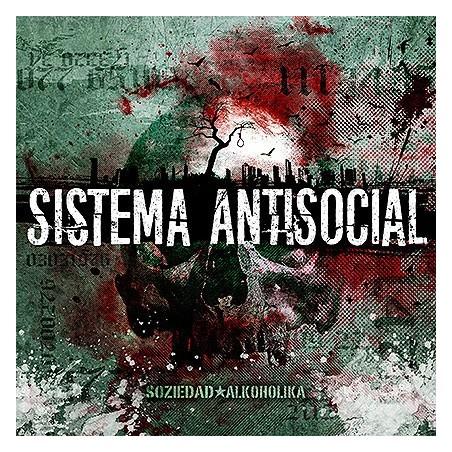 SOZIEDAD ALKOHOLIKA - Sistema Antisocial LP