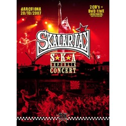 SKALARRIAK - S★K★A Republik Concert CD+DVD