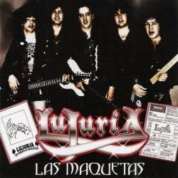 LUJURIA - Las Maquetas CD