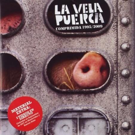 LA VELA PUERCA - Comprimida 1995/2009 CD